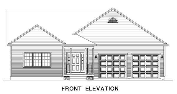 Courtland Front Elevation