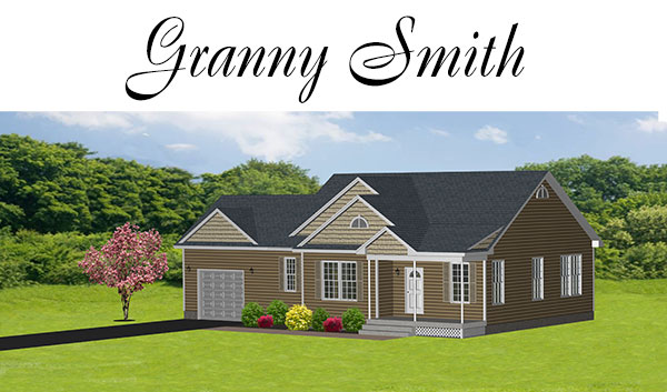 Granny Smith Style Custom Home, Apple Valley Estates Maine