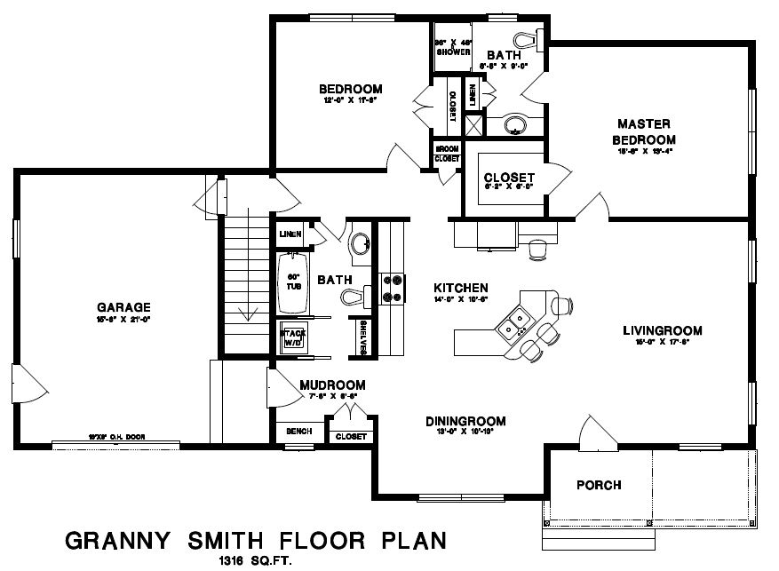 Granny Smith Floor Plan